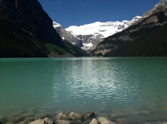 Water in Lake Louise